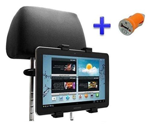 Hoofdsteunhouder voor Lenovo Ideapad S6000 10,1 inch tablet + USB-oplader