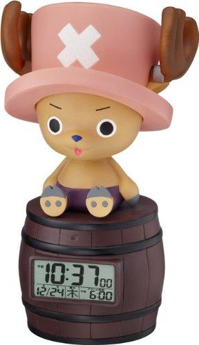 Japan Original? ONE Piece Character Alarm Clock! Tony Tony Chopper Chattering·feeling of Person Sensor Function Deployment 8rda51rh06 (japan import)