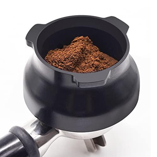 Lejek dozujący 54 mm bezgłośny kubek dozujący do szałwii barista ekspresów do kawy espresso akcesoria czarny