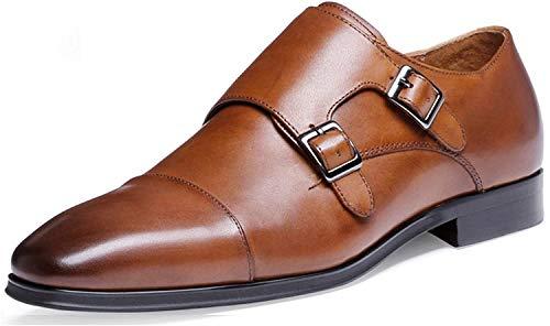 DESAI Herren Business Slipper Schuhe, Braun, EU 43