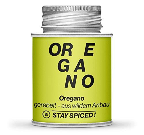 STAY SPICED ! Oregano I Reingewürze I Edler Wildanbau aus der Türkei I 170 ml