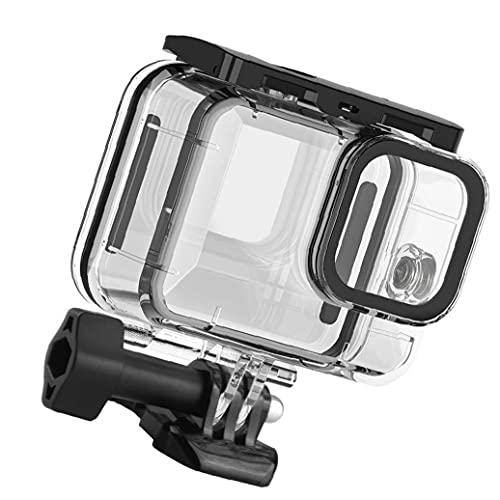NiceJoy Wasserdichtes Gehäuse Kompatibel mit Gopro Hero 9 Schutzgehäuse Unterwasser Tauchabdeckung Action Camera Zubehör