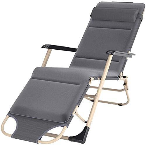ADHW reclinable, silla reclinable al aire libre, silla de salón, para personas de servicio pesado, fundas de cojín reclinable, sillón individual acolchado