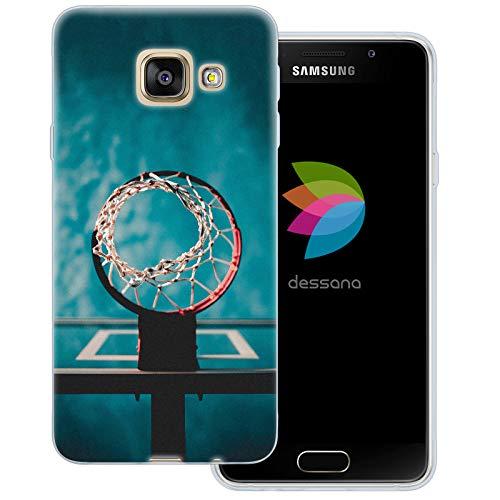 dessana - Cover trasparente per Samsung Galaxy A3 (2016) con rete di lancio
