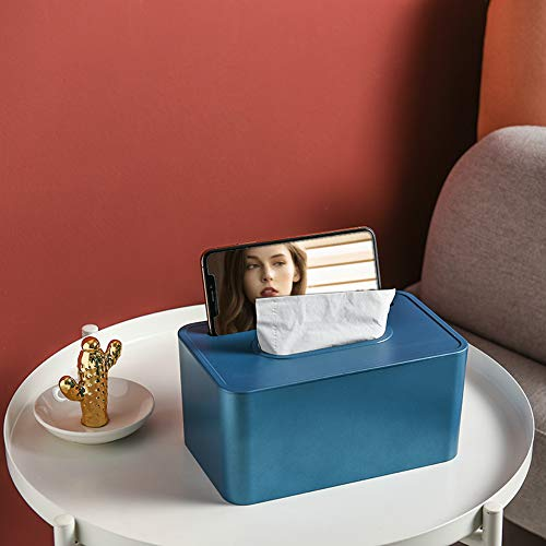 MSNLY Papierbox Desktop Tissue Box Home Wohnzimmer kreativ Nordic Ins multifunktionale Fernbedienung Aufbewahrungsbox