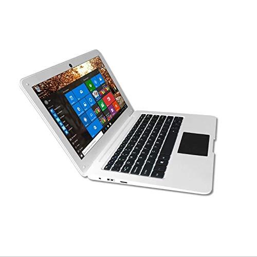 TOPOSH PC Ordinateur Portable 10.1 Pouces 2Go+32Go eMMC Intel Atom 1.92 GHz, Intel HD Graphique Laptop Notebook, Carte TF Extension Disque Bluetooth 4.0 WiFi HDMI Supportable- Blanc
