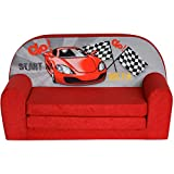 Fortisline Mini-canapé Sofa Enfant Motif Racing W386_02