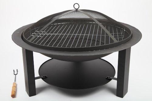 point-garden Brasero pour Barbecue en Fer Massif 73 cm