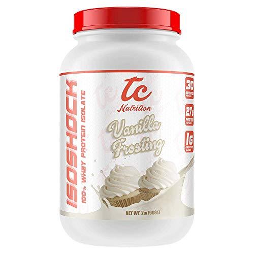 TC Nutrition IsoShock Vanilla Milkshake 5lb, 2.27 g