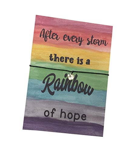 Dios Designs After Every Storm There is a Rainbow of Hope - Choice of Wish...