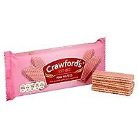 クロフォードのピンクのウエハ100グラム (x 6) - Crawford's Pink Wafers 100g (Pack of 6) [並行輸入品]