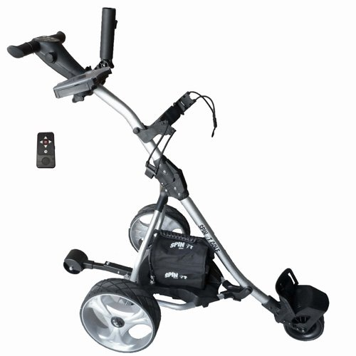 Spin It Golf Products GC1R 'Easy Trek' Remote Controlled Electric Golf Cart, Silver