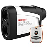 MiLESEEY Golf Rangefinder, High-Precision Laser Range Finder with Slope On/Off, Fast Flagpole Lock...