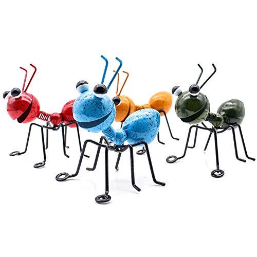 YiYa Hormiga de Metal un Grupo de 4 Insectos Lindos...
