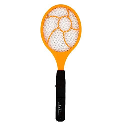 Kaxofang Palmeta Matamoscas para Electrico Led Matamoscas Raqueta De Tenis Electrica 44 x 15.5 Matador De Avispa