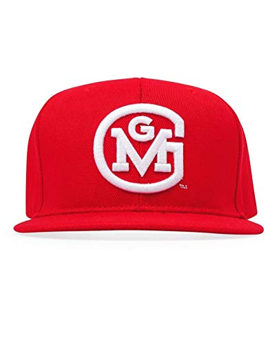 Gas Monkey Garage Cap Snap-Back 3D Initial Logo Red