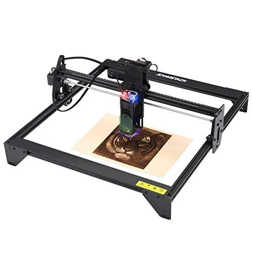 Graviermaschine Laserengraver Kits 20W Engraving Machine Desktop Stand Cutter Craftsman DIY Craft Engraving Tools for Wood Leather für Schnittgravur Logo,automatische,Gravierbereich Lasergravierer