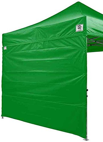 Price comparison product image Impact Canopy 10' x 10' Instant Pop-Up Canopy Tent with Aluminum Frame,  Solid Sidewalls,  Mesh Sidewalls,  and Roller Bag,  Kelly Green