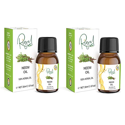 2X RIGEL 100% Herbal Neem Oil | Essential Neem Oil For Hair Treatment - 30ml