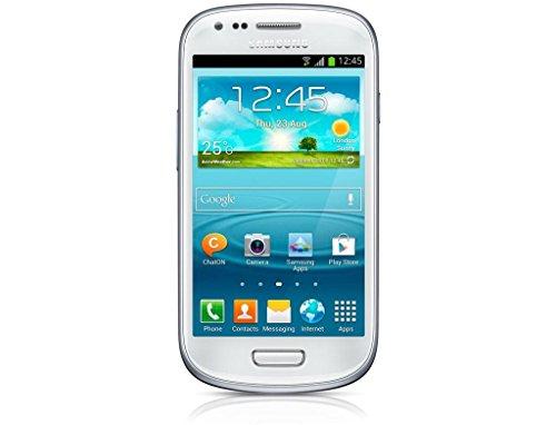 Samsung Galaxy S3 mini GT-I8200 Smartphone (10,2 cm (4 Zoll) Touchscreen, 5 Megapixel Kamera, 8GB Speicher, microSDHC-Kartenslot, Android 4.2) - Weiß [EU-Version]