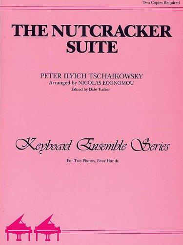 NUSSKNACKER SUITE - arrangiert für zwei Klaviere - Klavier 4händig [Noten / Sheetmusic] Komponist: TSCHAIKOWSKY PJOTR ILJITSCH aus der Reihe: KEYBOARD ENSEMBLE SERIES