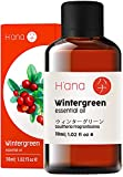Hana Wintergreen Essential Oil - Clears Up Breathing and Relaxes Muscle Aches - to Feel Refreshed - 100 Pure Therapeutic Grade for Aromatherapy and Topical Use - 30ml