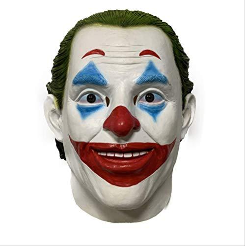tytlmask Joker Cosplay Film Masker, Horror Enge Clown Latex Masker, Voor Halloween Party Kostuum Props