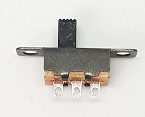 20x MINI SCHIEBESCHALTER MINIATUR 3 PIN 2 POSITIONEN MICRO 20X6MM 48V 0,5A