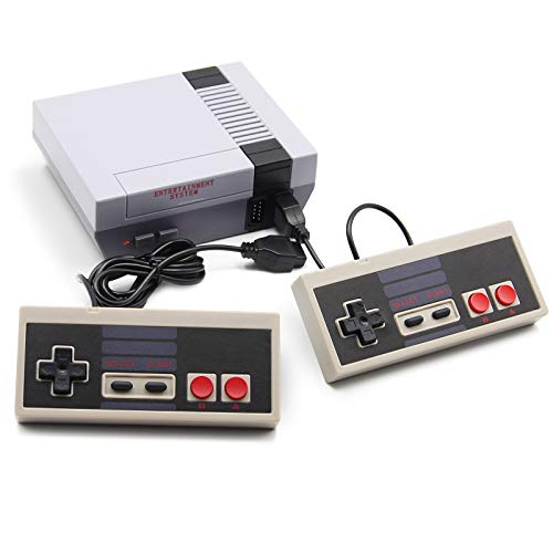 Classic Mini Game Console with Built in 620 Games, Mini Classic Game Console and NES Classic Controllers 2-Pack