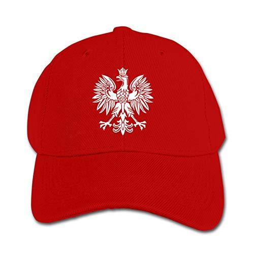 Polska Eagle Unisex Kinder Mütze Sonnenhut Hip Hop Kappe Verstellbare Sportkappe Teen Hut Kinder Entenschnabel Kappe