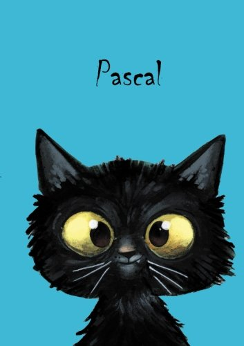 Pascal - Coloring Book / Notebook / Diary: DIN A5 - cat - blank