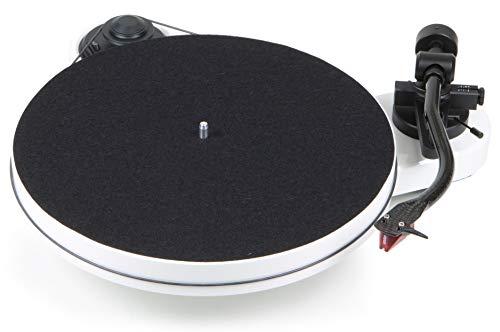 Pro-Ject RPM 1 Carbon Plattenspieler mit Riemenantrieb (inkl. Ortofon 2M Red, Weiß)