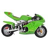 Pocket Bike,Dirt Bike Electric Motorcycle for Kids,Mini Motorcycles Gas Pocket Bike for...