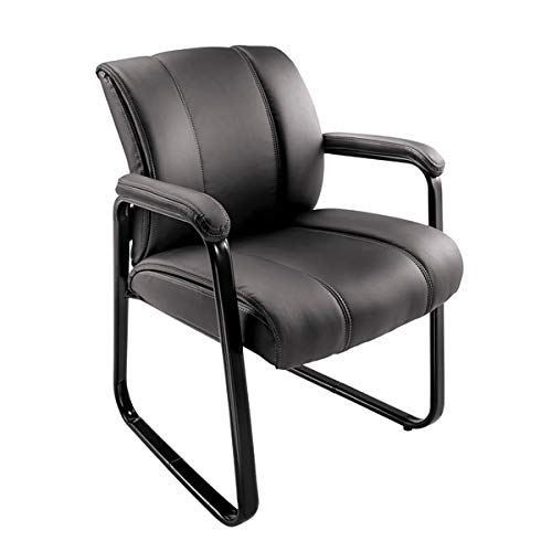 Brenton Studio Bellanca Guest Chair, Black