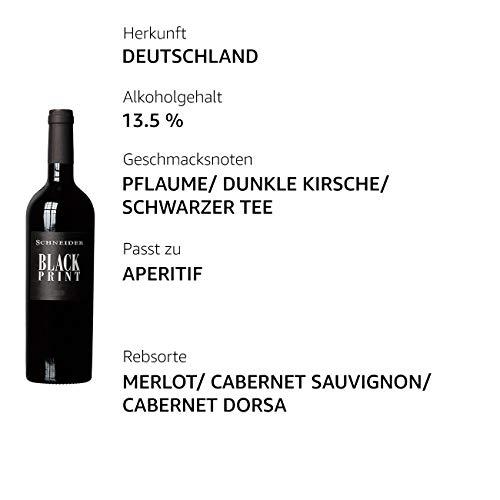 Markus Schneider Black Print Cabernet Sauvignon 2018 trocken (1 x 0.75 l) - 3