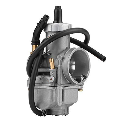 Qiilu Carburador Carb para Keihin PE28 28mm, carburador Apto para CR80 CR80RB 1996-2002 CR85 CR85R 2003
