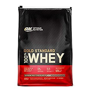 Optimum Nutrition Gold Standard 100% Whey Protein Powder, Extreme Milk Chocolate, 4.55 Kilograms (B07B161LTJ) | Amazon price tracker / tracking, Amazon price history charts, Amazon price watches, Amazon price drop alerts