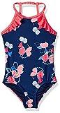 Tommy Hilfiger Little Girls' One-Piece Swimsuit, Flag Blue, 6