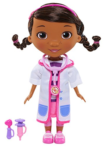 Doc McStuffins Toy Hospital Doc 8.5 Inch Articulated Doll with Doctor Accessories
