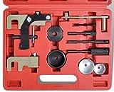 JOMAFA - Kit de herramientas de Bloqueo de Sincronización del Motor y Árbol de Levas compatible con RENAULT OPEL NISSAN 1.5 1.9 2.2 2.5 DCi DTI K9K F9Q G9T 4063