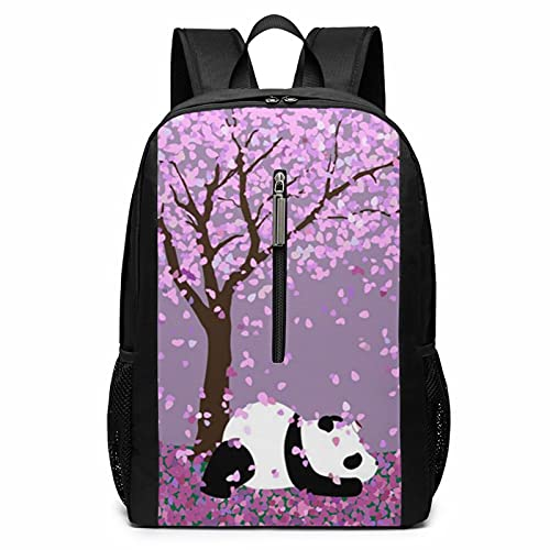 NiYoung Big Capacity Backpack, Panda Under The Tree Anti-Theft Multipurpose Bookbag with Padded Straps, Casual College School Daypack, Camping Outdoor Backpack, Business Computer Bag