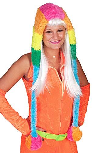 Capuche Peluche Multicolore