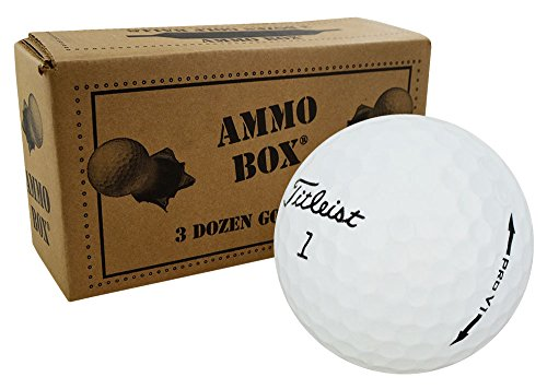 Buy Bargain Titleist Pro V1 Near Mint Used Golf Balls 3-Dozen White