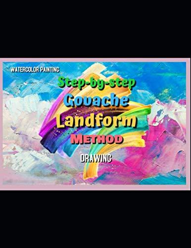Step-by-step Gouache Landform Method