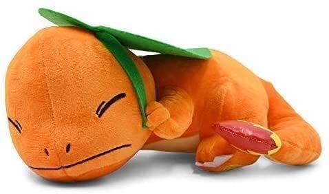 Gevulde dieren speelgoed Knuffels Crouching Sleeping Charmander Pluchen speelgoed Soft Doll Gevulde Gift For Kids