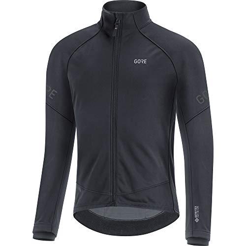 GORE WEAR Giacca termica da ciclismo per uomo, C3, GORE-TEX INFINIUM, M, Nero