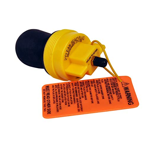 Oatey Cherne 271705 Clean-Seal 2 inch Plug, 2 in