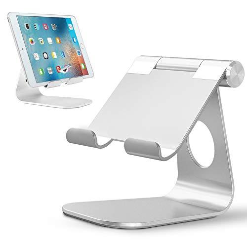 LURICO Tablet Ständer -Verstellbare Tablet Stand, Handy Ständer, Tischplattenhalter, Tablet Staender, Universal Halter, Halterung, Geeignet für iPad Ständer, iPad Pro 9.7/10.5/12.9, iPad Air iPad Mini