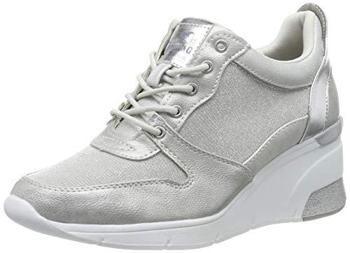 Mustang Damen 1303-301-21 Sneaker, Silber (Silber 21), 39 EU