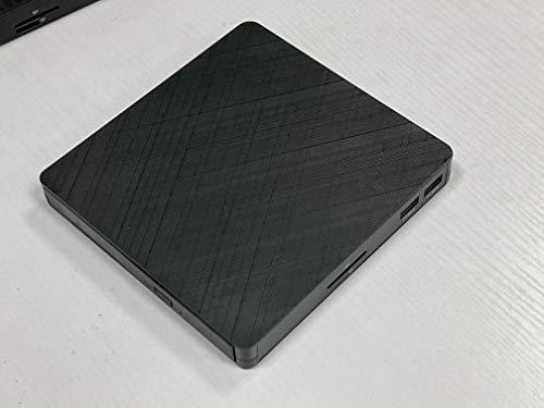 ETE ETMATE Unidad de DVD externa Blu Ray 3D, USB 3.0 y Tipo-C con lector de tarjetas SD/TF, Bluray BD DVD CD Grabador óptico MacOS, Windows